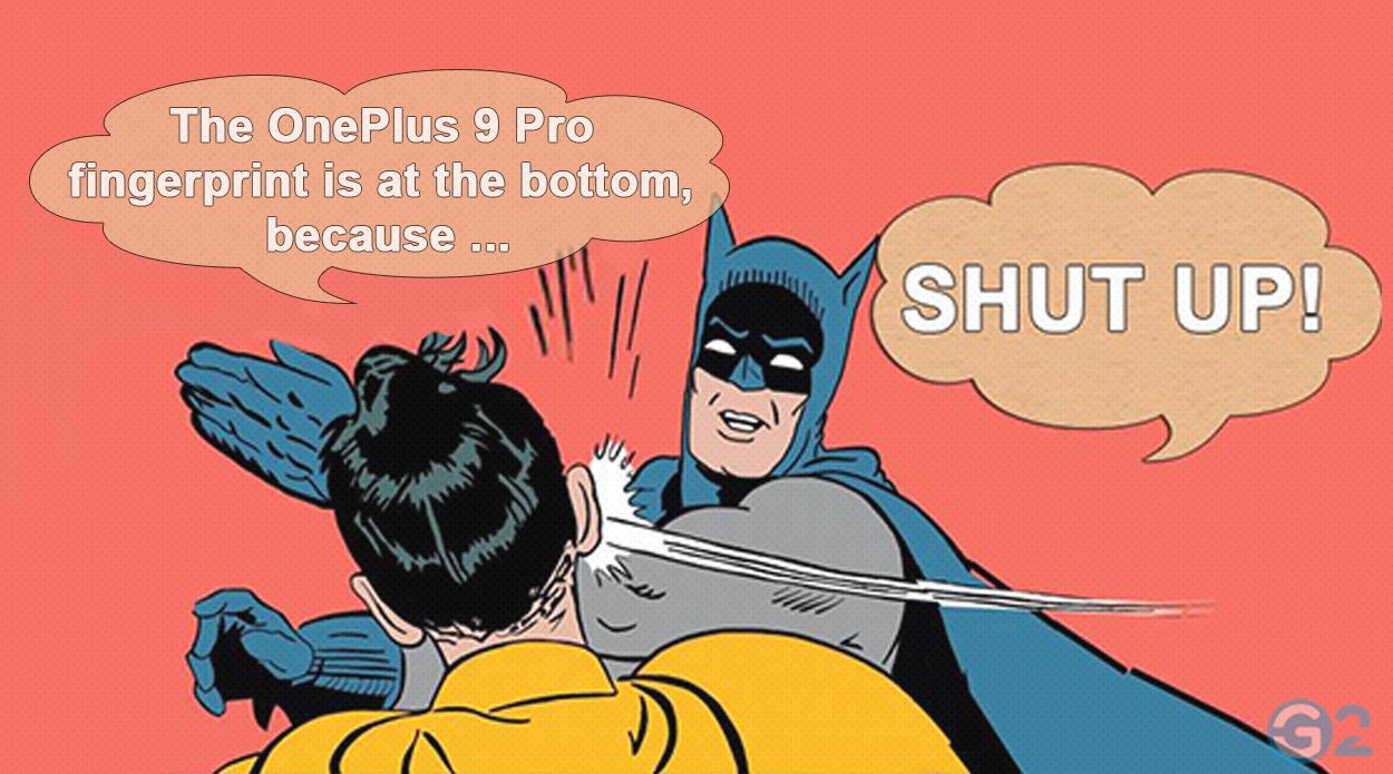 OnePlus 9 Pro Batman-Schelle