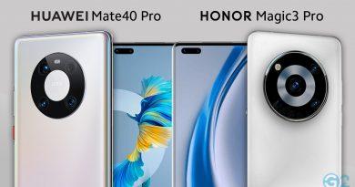 Honor Magic3 Series vs. Huawei Mate 40