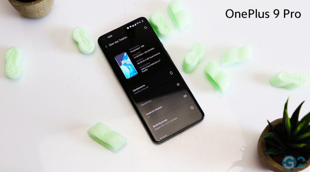 OnePlus 9 Pro OxygenOS