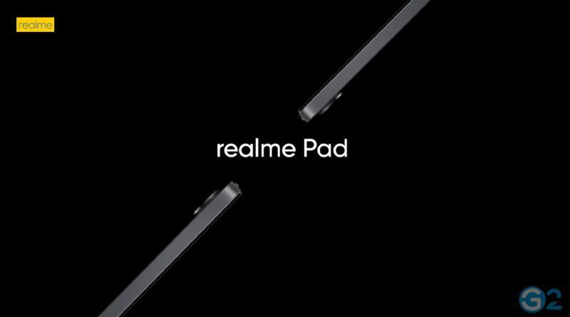 Realme Pad Teaser