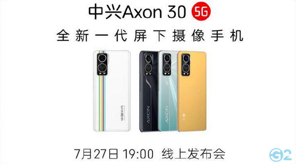 ZTE Axon 30 5G Launch-Event