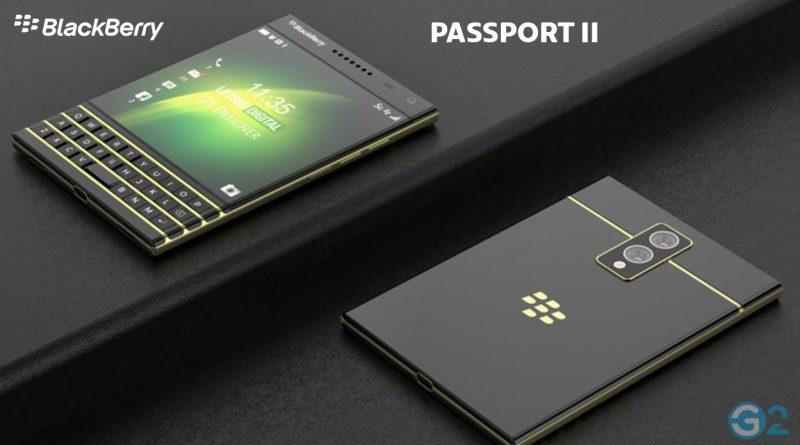 BlackBerry Passport 2