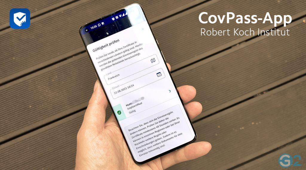 CovPass-App Update