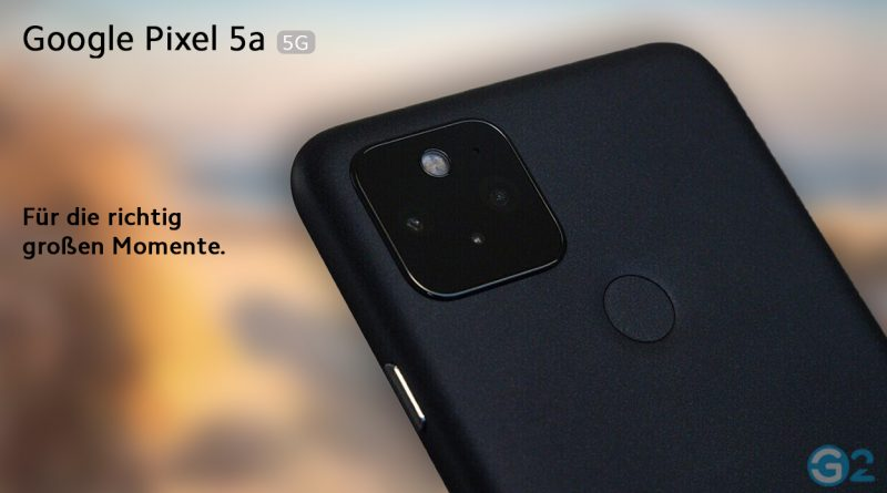 Google Pixel 5a Kamera