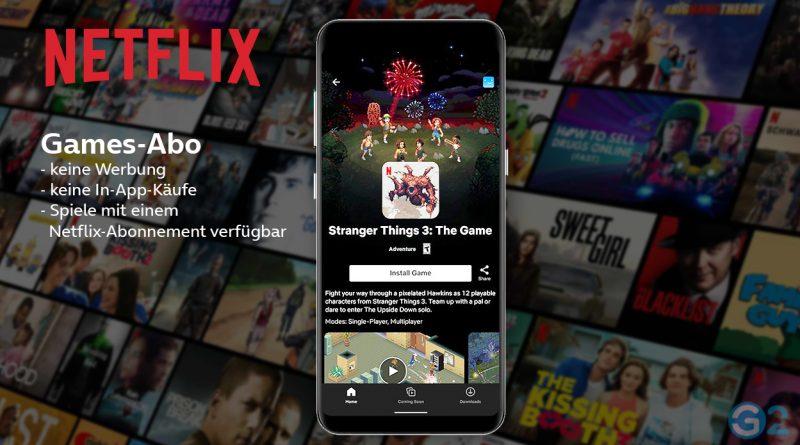 Netflix Spiele-Abo