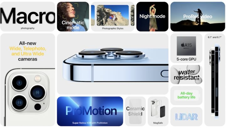 Apple iPhone 13 Pro und Pro Max