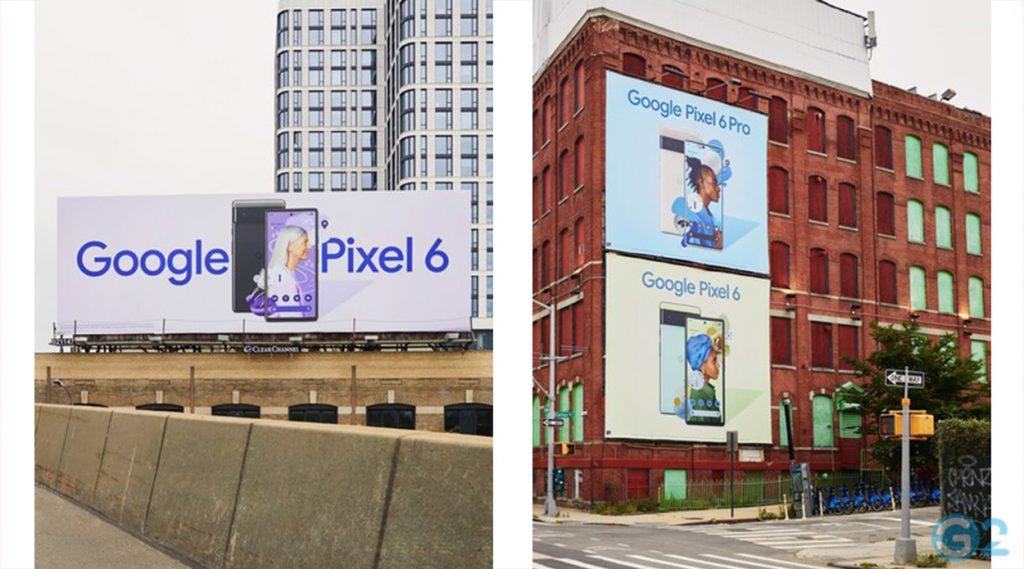 Google Pixel 6 und 6 Pro Plakate
