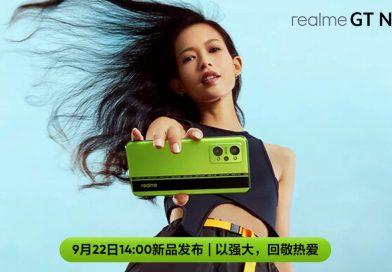 "Realme GT Neo 2 am 22. September nicht in AMG ""Green Hell"" sondern ""BlackMint"""