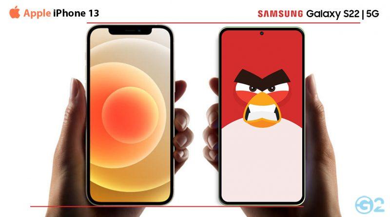 Samsung Galaxy S22 Series vs. Apple iPhone 13