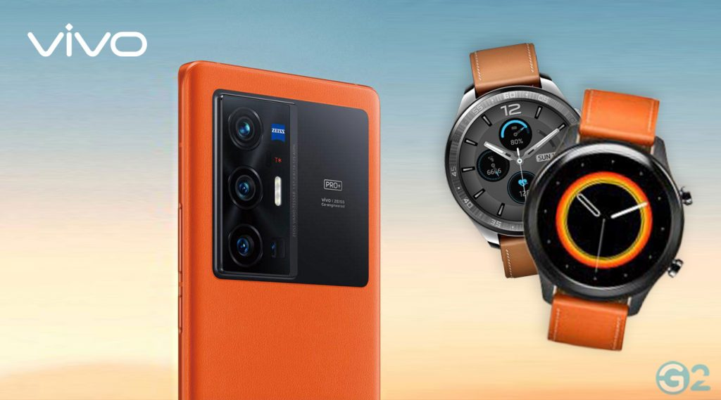 Vivo X70 und Smartwatch