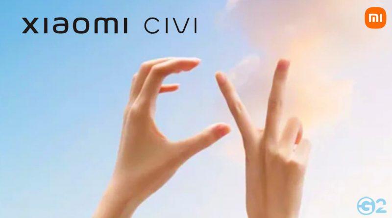Xiaomi Civi Serie Launch Event