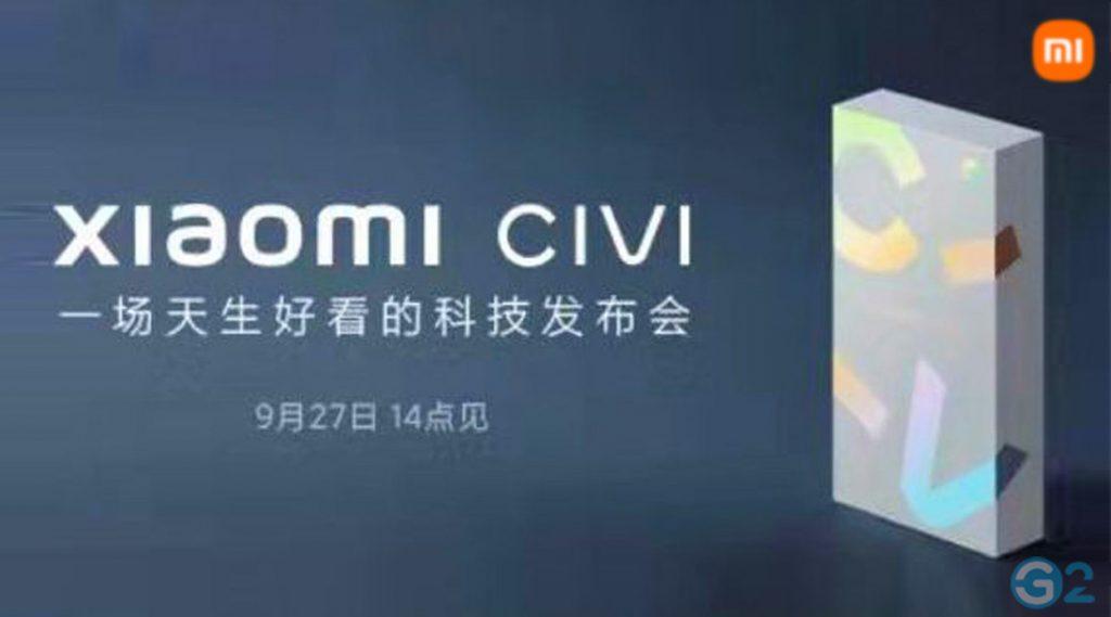 Xiaomi Civi Launch-Event