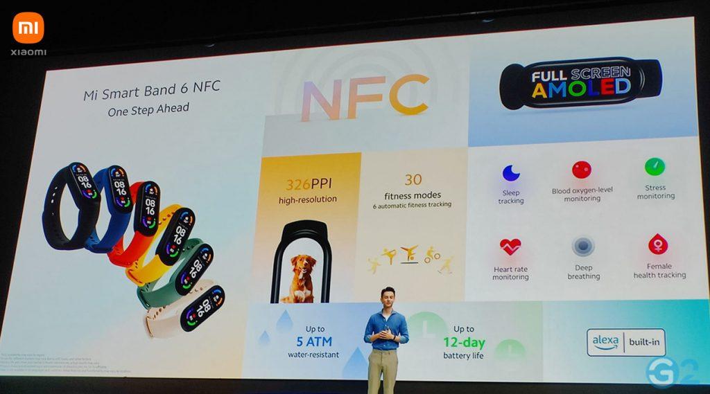 Xiaomi Mi Smart Band 6 NFC