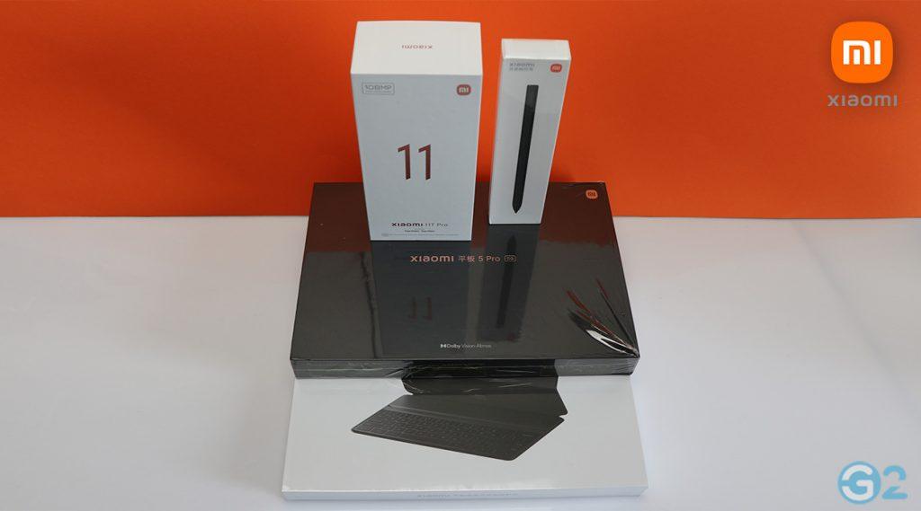 Xiaomi Pad 5 Pro 5G und Zubehör