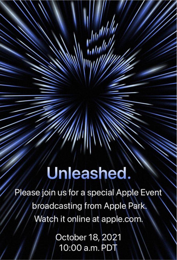 "Apple ""Unleashed""-Einladung"