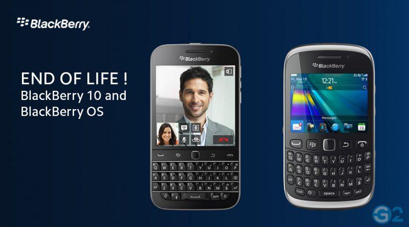 Ende von BlackBerry 10 & BB OS