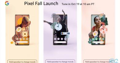 Google Pixel 6 Launch-Event