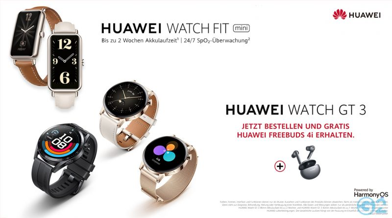 Huawei Watch GT 3 & Watch Fit mini
