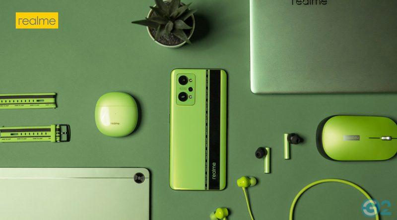 Realme Pad und mehr in Grün