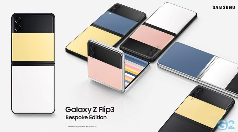 Samsung Galaxy Z Flip3 Bespoke-Edition