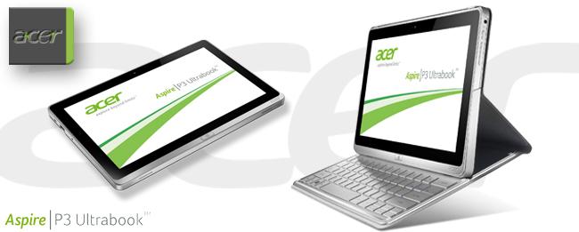 Acer Aspire P3: Tablet und Ultrabook zum günstigen Preis