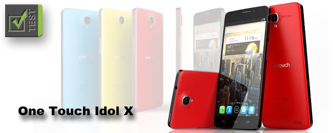 Alcatel One Touch Idol X Test