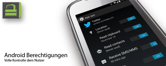 Android 4.4 KitKat App Berechtigungen