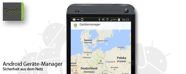 Android Geräte-Manager mit neuen Sicherheitsfunktionen