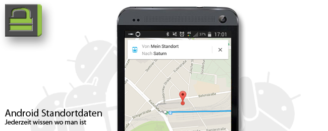 Android Standortdaten RutgersPrivacyApp