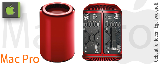 Apple Mac Pro Red edition