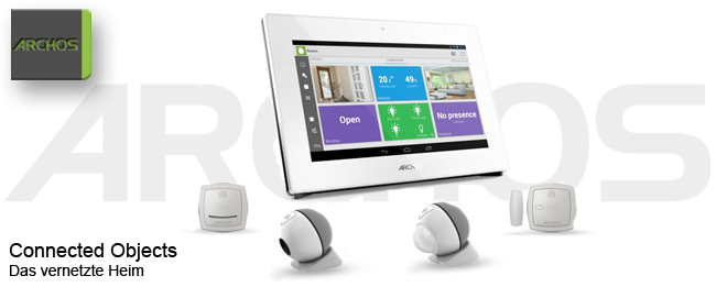 Archos Connected Objects: Das vernetzte Heim zur CES 2014
