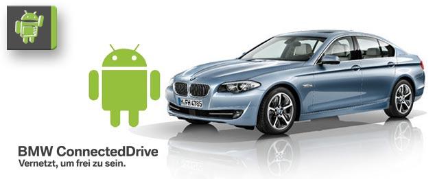 BMW iDrive und ConnectedDrive