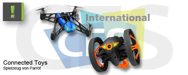 Parrot Connected Toys MiniDrone und Jumping SUmo