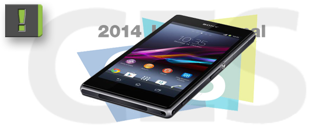 Sony Xperia Z1 Compact auf der CES 2014