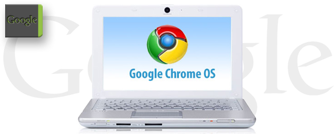 Chromebook mit Google Chrome OS