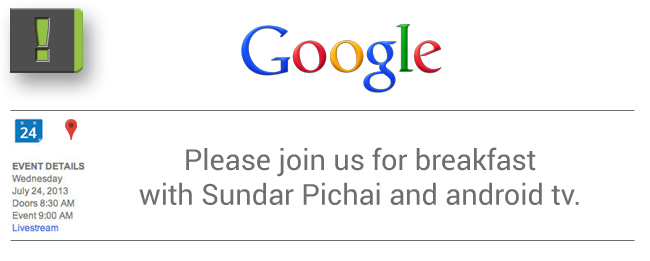 Live Blog vom Google Frühstück mit Sundar Pichai