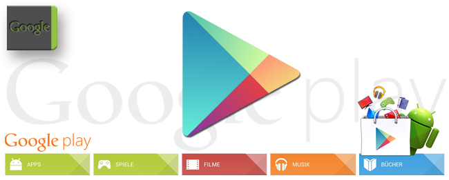 Google Play Store und Play Newsstand
