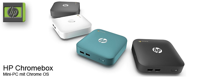 HP Chromebox kommt mit Intel Core i7
