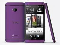 HTC One Purple
