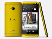 HTC One Yellow