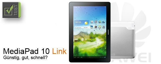 Huawei MediaPad 10 Link Test