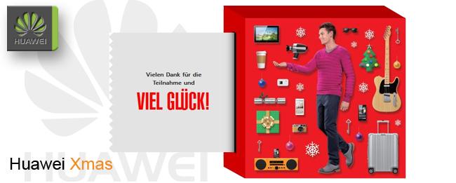 Huawei verlost Xmas-Pack mit Smartphone und Tablet