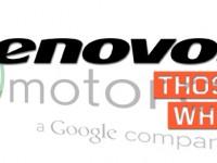 Lenovo äußert sich zu neuen Motorola Tablets
