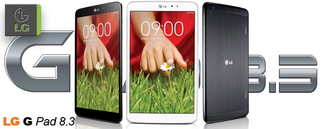 LG G Pad 8.3 bei Media Markt ab 4. November für 299 Euro