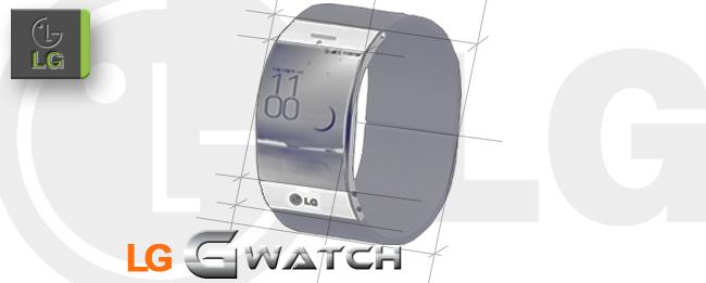 LG G-Arch SmartWatch zum MWC 2014