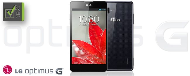 LG Optimus G Test
