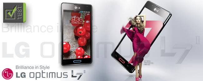 Test LG Optimus L7 II
