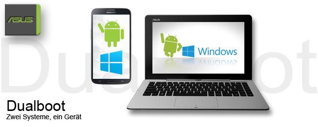 Dualboot Smartphone und Tablet