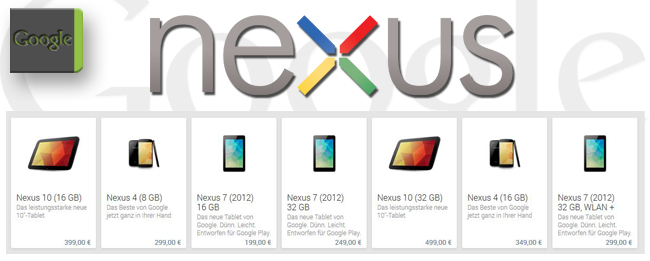 Google Play Edition anstatt Nexus