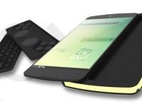 Nexus P3: Smartphone-Konzept mit Tastatur zum wechseln